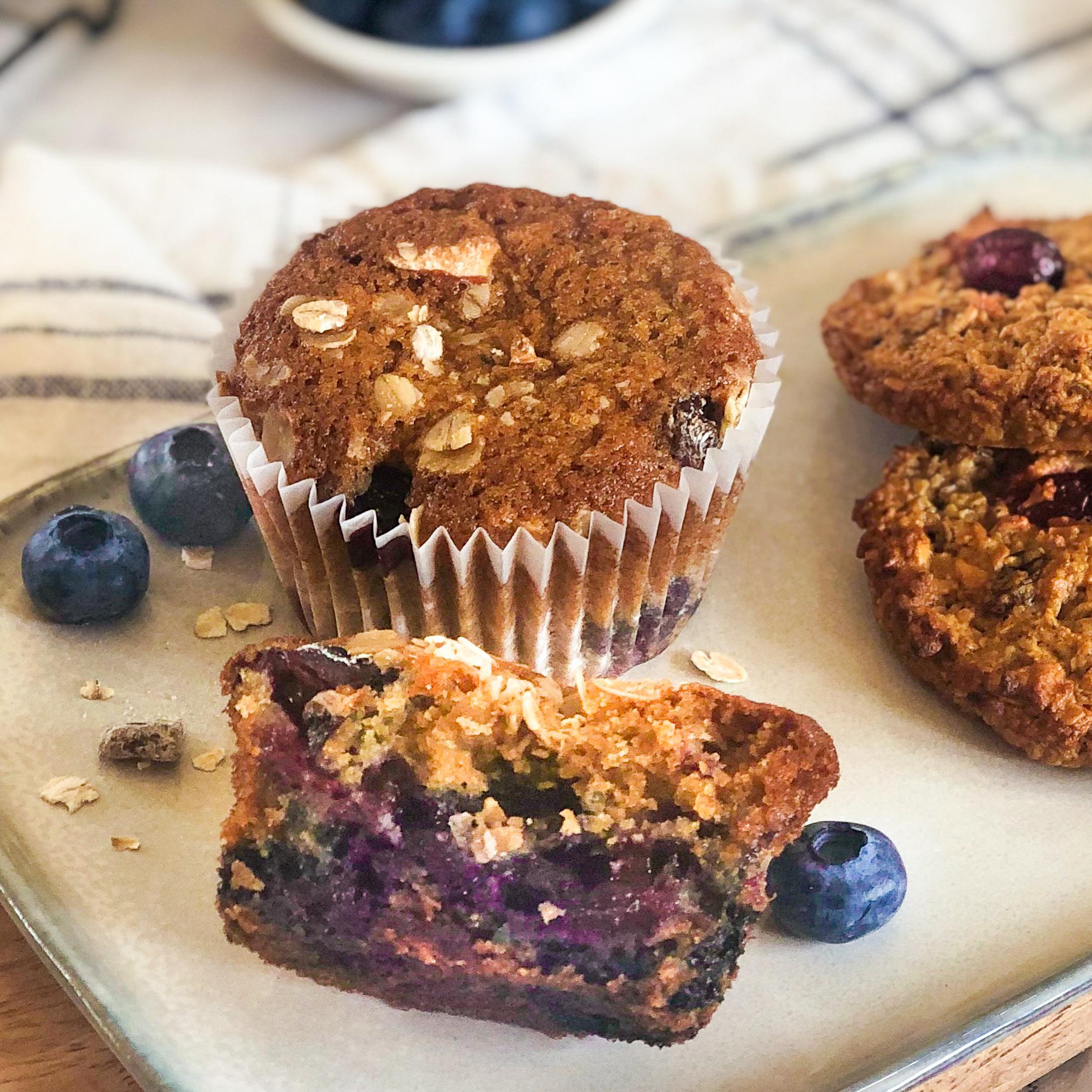 gluten free muesli muffin